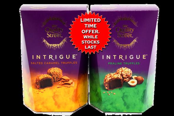 Quality Street Intrigue Salted Caramel & Praline Chocolate Truffles (200g X 2)