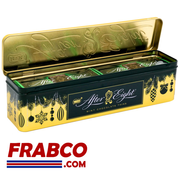 After Eight Festive Tin Mint Chocolate Thins 400g