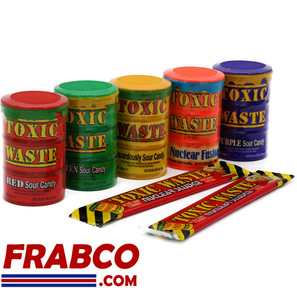 Toxic Waste Ultimate Sour Multi-Pack Collection