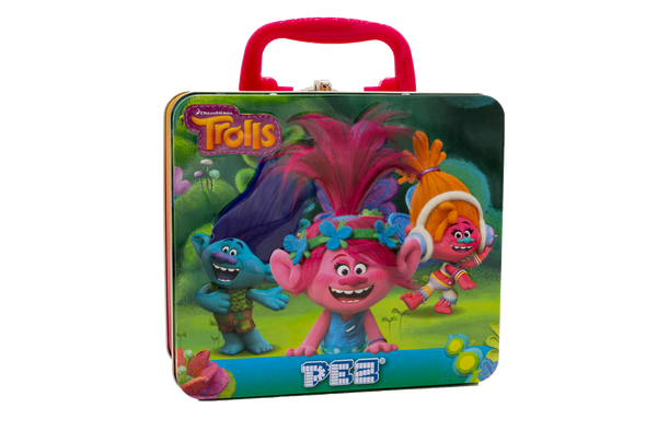 Dreamworks PEZ Trolls Gift Tin