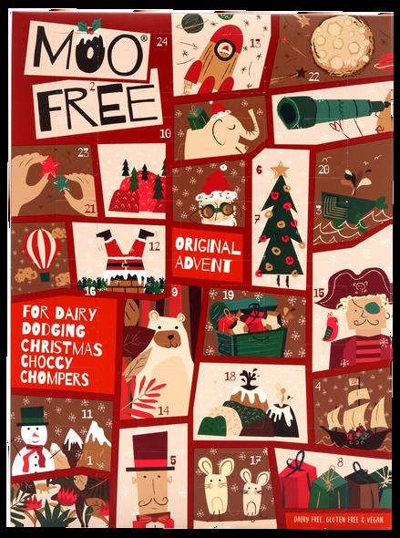 Moo Free Dairy Free Milk Chocolate Advent Calendar - 70G