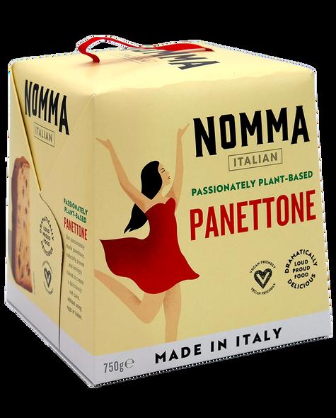 Nomma Italian Passionately Plant Based Panettone