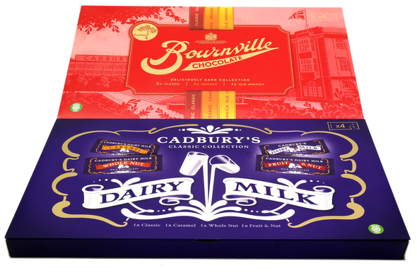 The Cadbury's Classics Collection 2 Pack. Christmas Selection