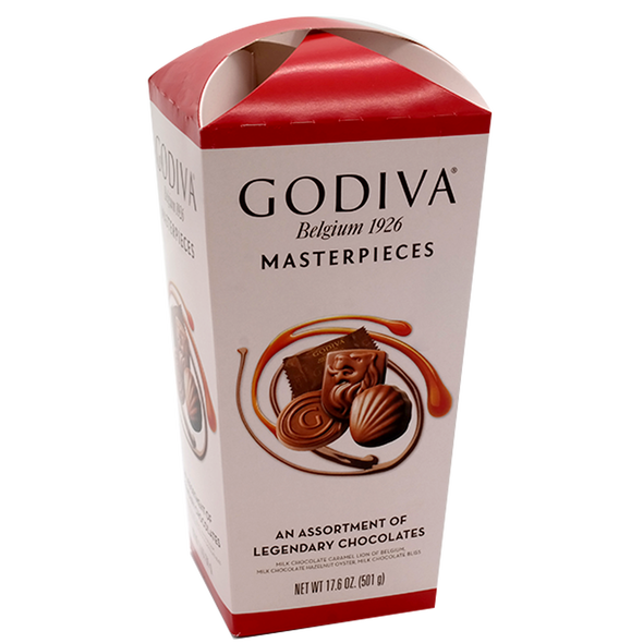 GODIVA Masterpiece Belgium Assortment Chocolates 501g