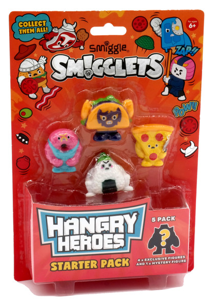 Smiggle Smigglets Hangry Hereos Collectable Pack