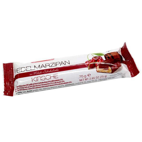 Marzipan With Kirche In Milk Chocolate