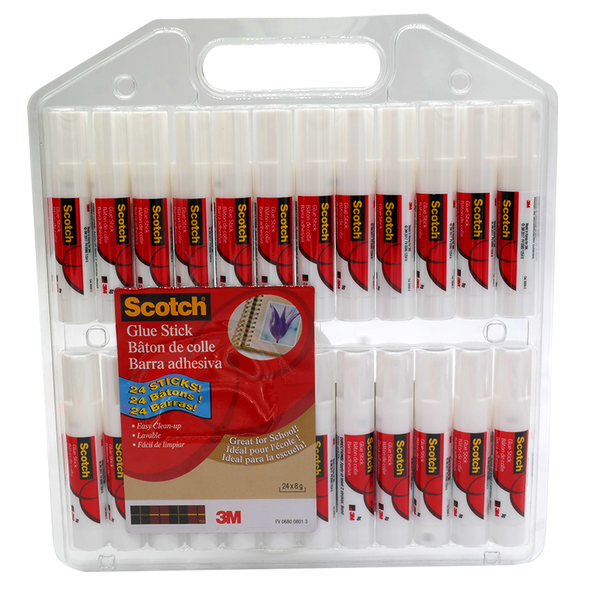 3M Scotch Glue Stick 24 Pack