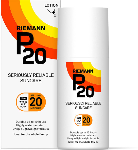 Riemann P20 Sunscreen SPF20 Lotion