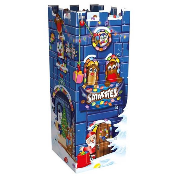 Smarties 3D Advent Calendar Castle