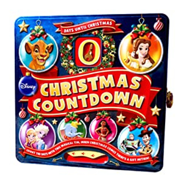 Disney 7 Days Until Christmas Countdown