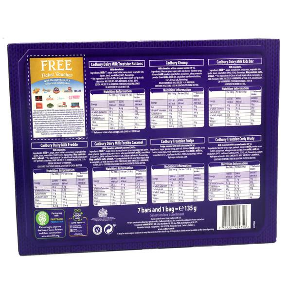 Cadbury Dairy Milk Freddo Chocolate Selection Carton 135g