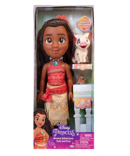 Disney Princess Moana Adventure Doll And Pua