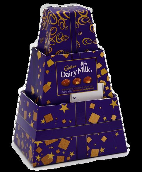 Cadbury Dairy Milk Chunk Secret Santa Pyramid Gift 250G