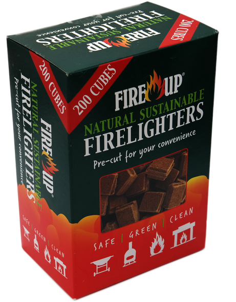 Fire UP Natural Sustainable Eco Firelighters 200 box