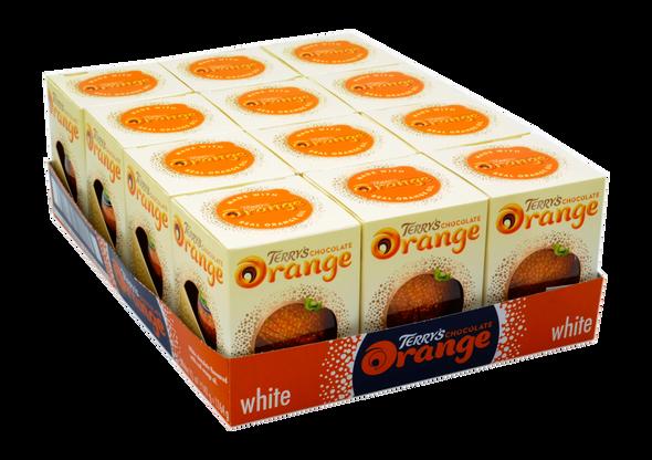 Terry's Chocolate Orange White Case of 12 x 147g