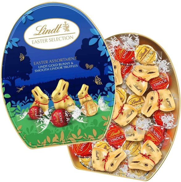 Lindt Easter Selection Egg Shaped Tin 330g
