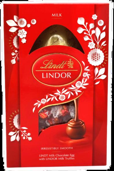Lindt Lindor Milk Chocolate Easter Egg with Lindor Milk Truffles 260g