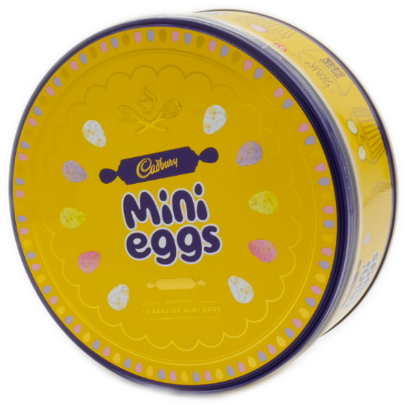Cadbury's Mini Eggs Tin 319g