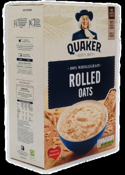 Quaker Porridge Oats, 1.5 kg