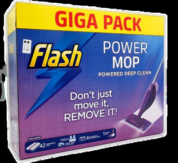 Flash  Power Mop Powered Deep Clean Giga Pack