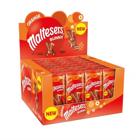 Limited Edition Maltsers Chocolate orange Bunny x 4