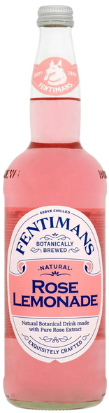 Fentimans Botanically Brewed Natural Rose Lemonade 750ml