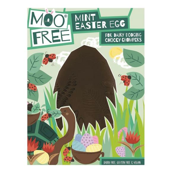 Moo Free Organic Mint Chocolate Easter Egg 140g