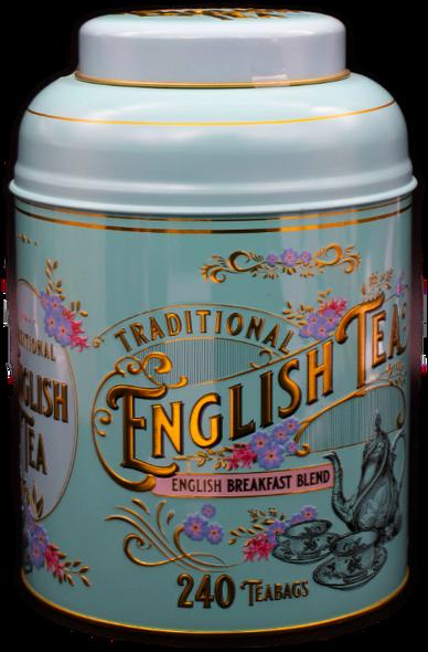 Traditional English Tea Gift Tin 240 Tea Bags