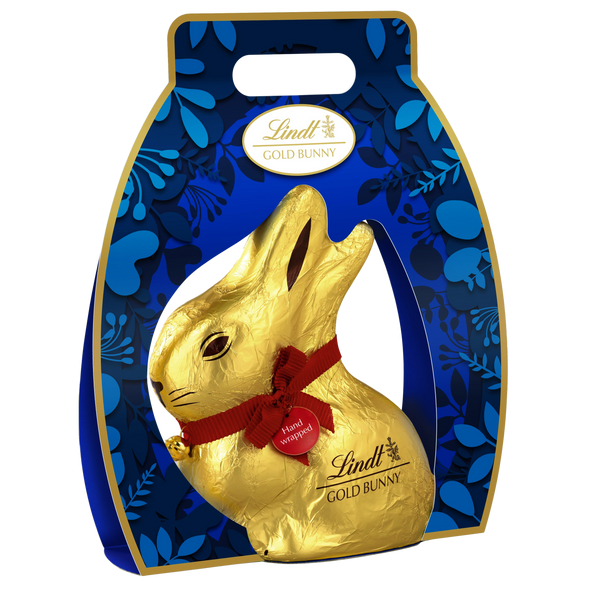 Lindt Giant Gold Bunny With Carrier 500g