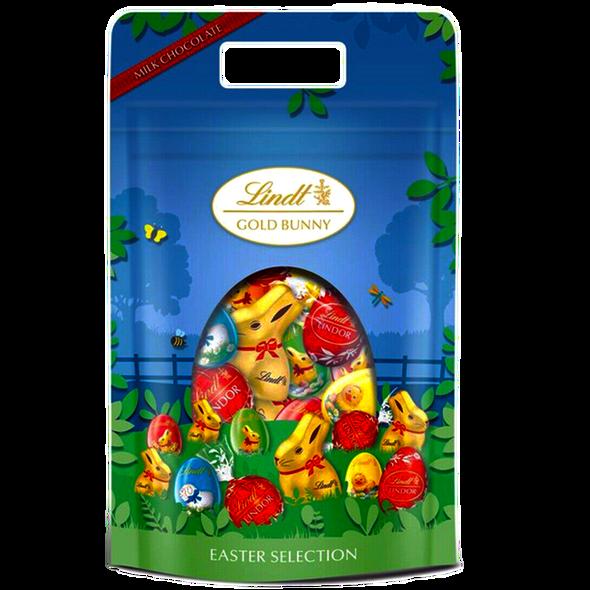 Lindt Gold Bunny Easter Selection Egg Hunt Pouch 400g