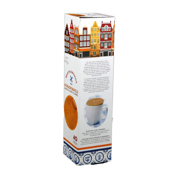 Le Chef Caramel Stroopwafel, 40 Pieces 1260g