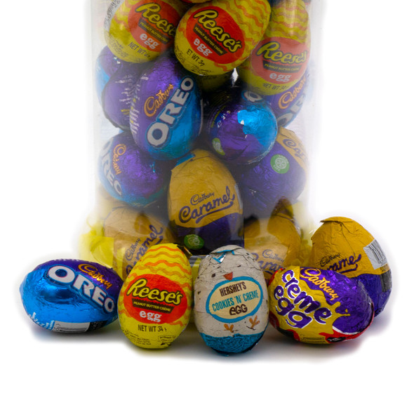 Exclusive Mixed Creme Egg Selection Mega Jar 1432g