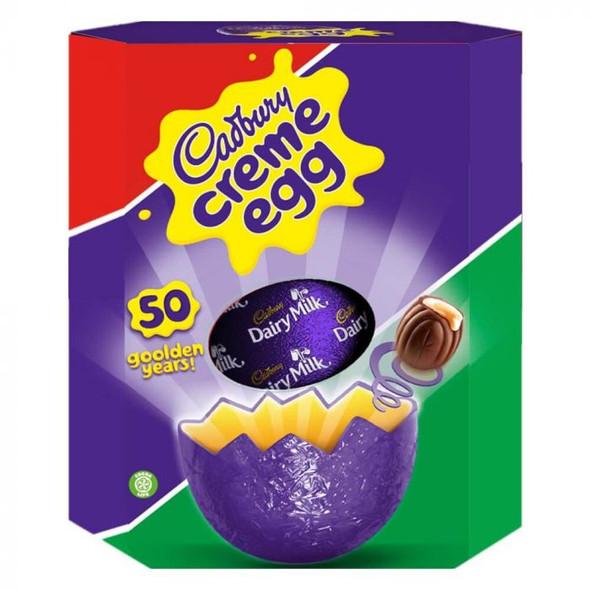 Cadbury 50 golden years Creme Egg Giant Easter Egg 460g