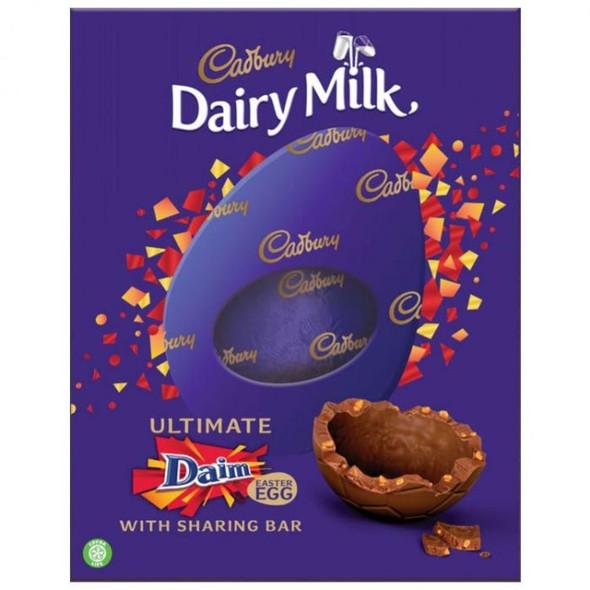 Cadbury Dairy Milk Daim Easter Egg 542g