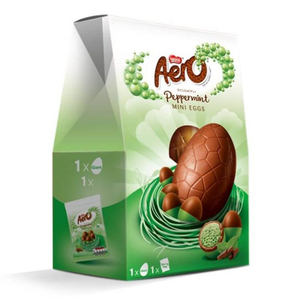 Aero Peppermint Mini Eggs Giant Egg 270g