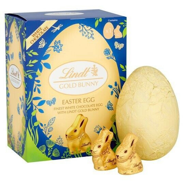 lindt Gold Bunny Easter Egg White Chocolate 115g