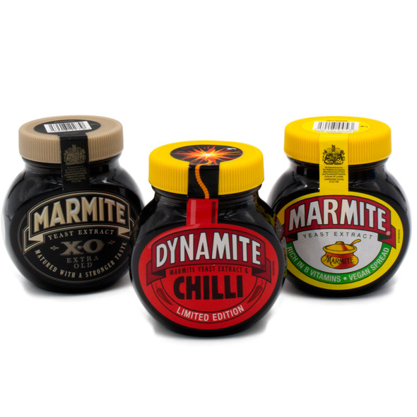 Marmite Collection Limited Edition XO Chilli and Original Pack of 3