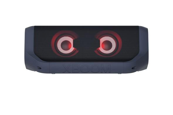 LG PN7 XBOOM Go Portable Bluetooth Speaker Water Resistant Black
