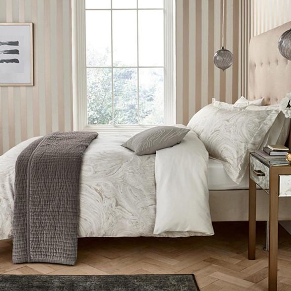 Harlequin 300 Thread Count Cotton Sateen 5 Piece Superking Size Bed Set, Makrana