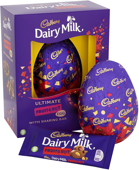 Cadbury Dairy Milk Fruit and Nut Ultimate Chocolate Egg 532g