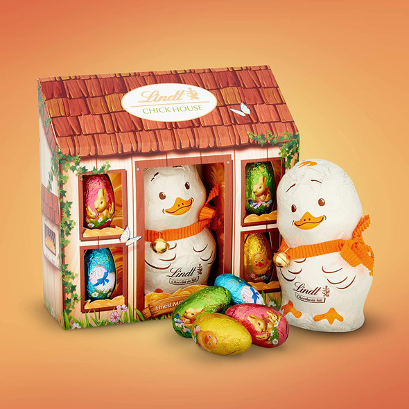 Lindt Easter Chick Milk Chocolate House