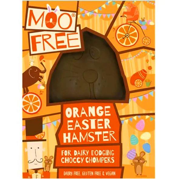 Moo Free Orange Easter Hamster 80g
