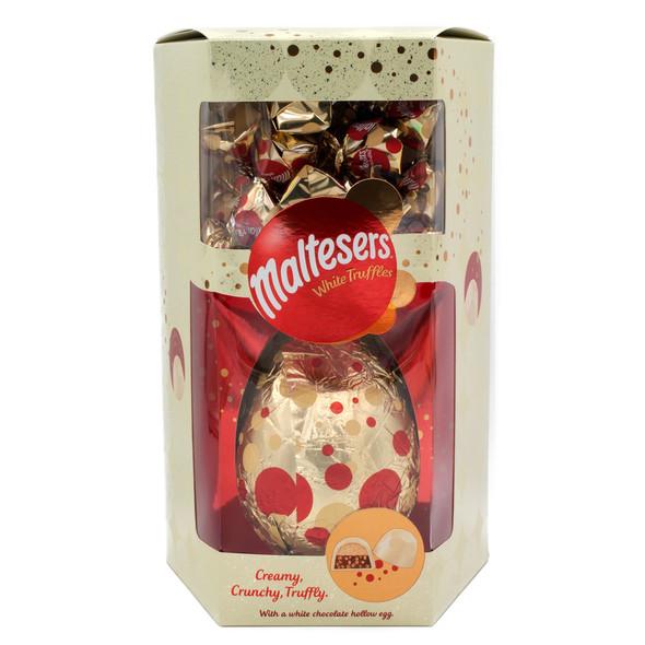 Maltesers White Chocolate Egg With White Truffles 287G