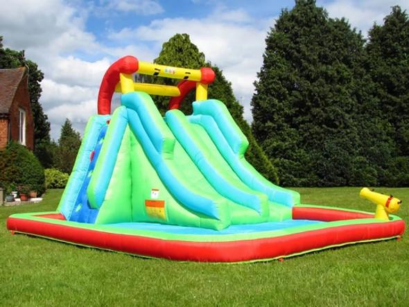 Bebop Neptune Tower Inflatable Water Slide