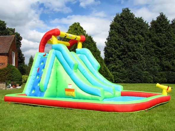 Bebop Neptune Tower Inflatable Water Slide