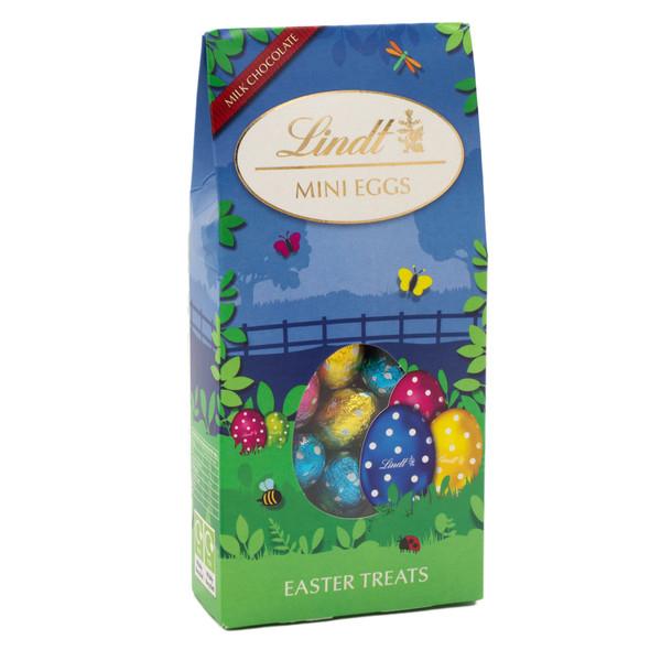 Lindt Solid Mini Milk Chocolate Mini Eggs Easter Treats Pack 177g