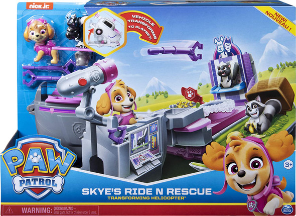 Paw Patrol Ride & Rescue Transforming Helicopter