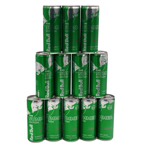 Red Bull The Summer Edition Cactus Fruit 12 Can Pack