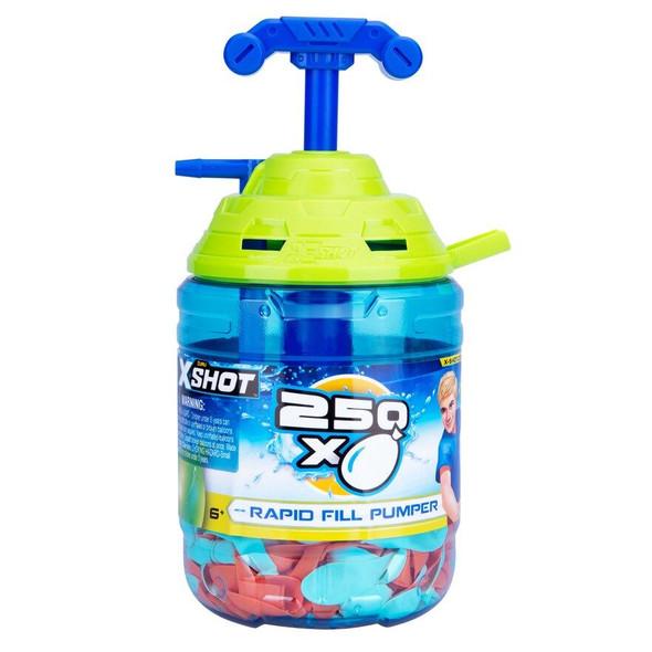 X-Shot Rapid Fill Water Balloon Pump 250