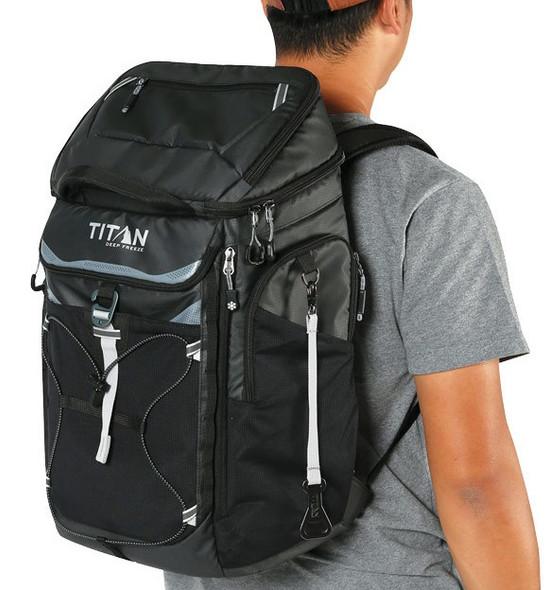Titan Deep Freeze® 26 Can Backpack Cooler Black